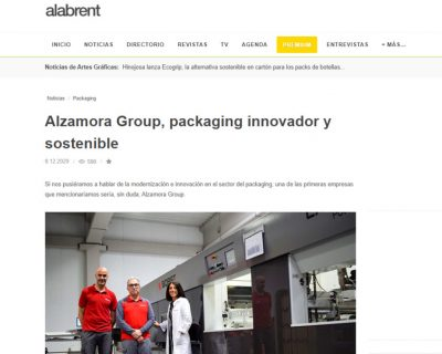 Alzamora Group, innovative and sustainable packaging
