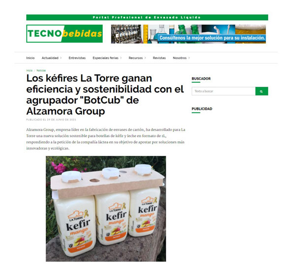 La Torre gain efficiency and sustainability with BotCub